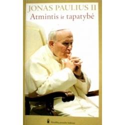 Jonas Paulius II - Atmintis ir tapatybė: pokalbiai tūkstantmečių sandūroje