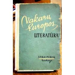Baužytė Galina - Vakarų Europos literatūra