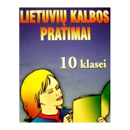 Matulienė Rita - Lietuvių kalbos pratimai 10 kl