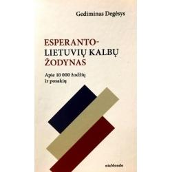 Degėsys Gediminas - Esperanto-Lietuvių kalbų žodynas