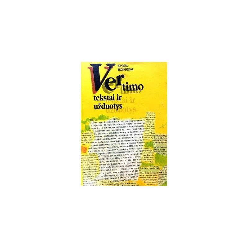 Prosniakova Henrika - Vertimo tekstai ir užduotys