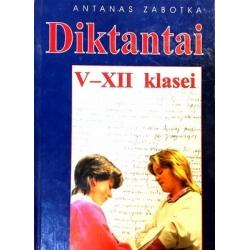 Zabotka A. - Diktantai V-XII klasei