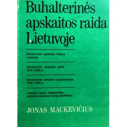 Mackevičius Jonas - Buhalterinės apskaitos raida Lietuvoje