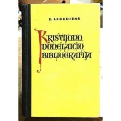Lebedienė E. - Kristijono Donelaičio bibliografija