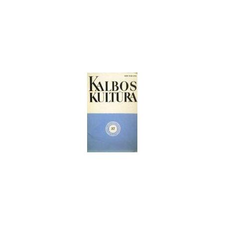 Kalbos kultūra 1979/37