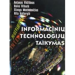 Vidžiūnas Antanas - Informacinių technologijų taikymas