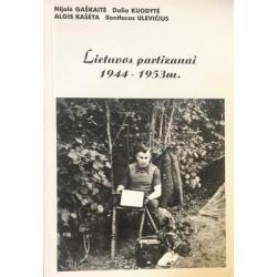 Gaškaitė Nijolė - Lietuvos partizanai 1944-1953 m